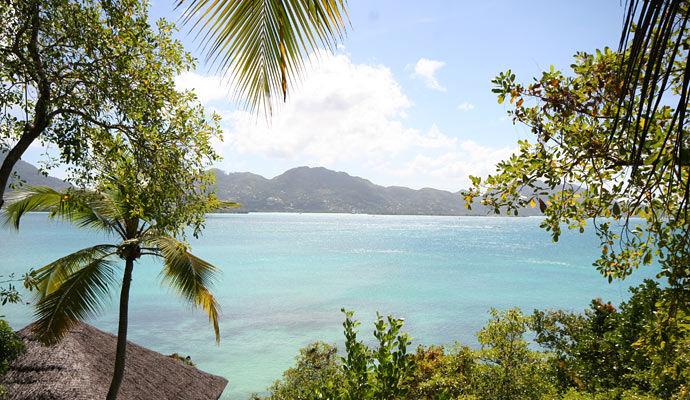 vue de la villa hideaway
