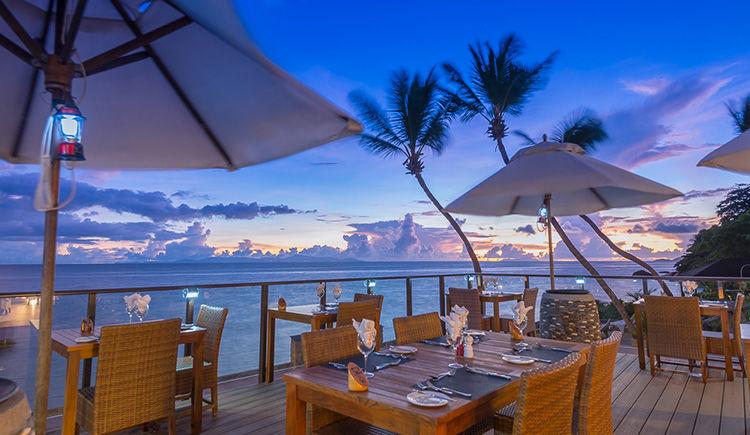 Coco de Mer et Black Parrot restaurant Hibiscus