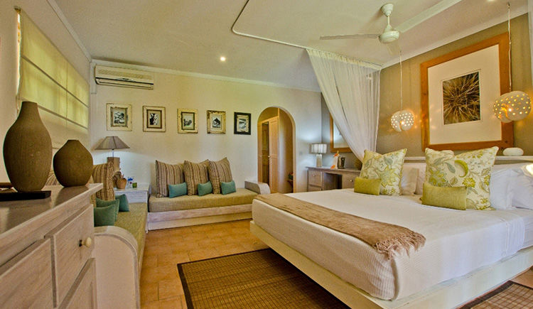 Indian Ocean Lodge chambre