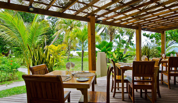 Indian Ocean Lodge restaurant