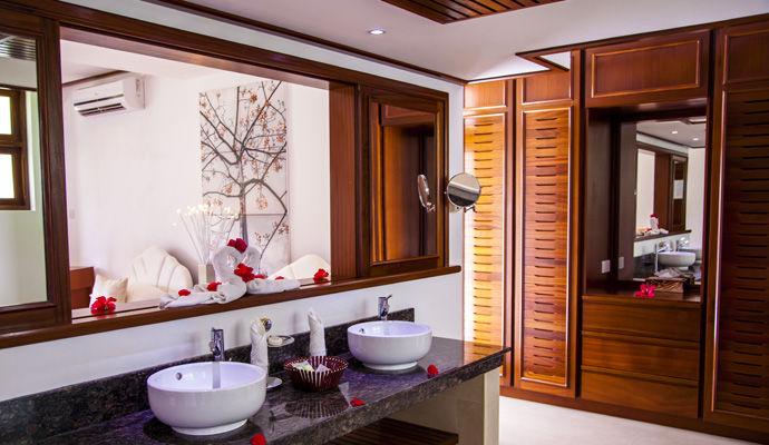 Salle de bain Chambre Beachfront Deluxe