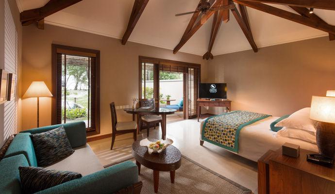 chambre pool villa