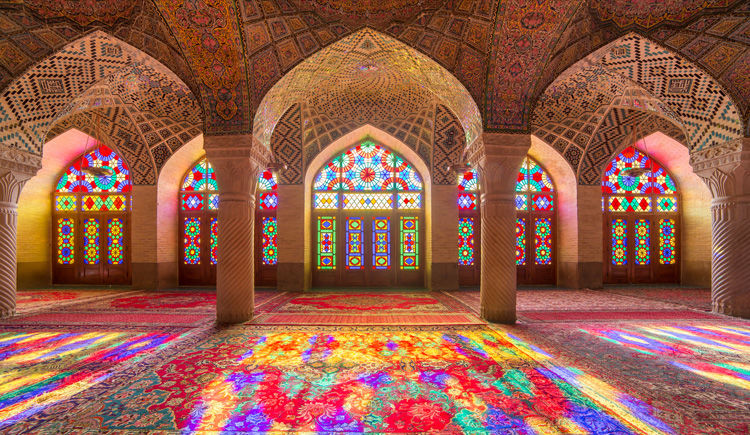 mosquee Nasir Ol-Molk a Shiraz