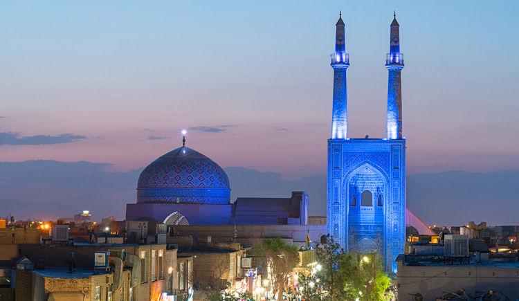 mosquee de Jameh a Yazd