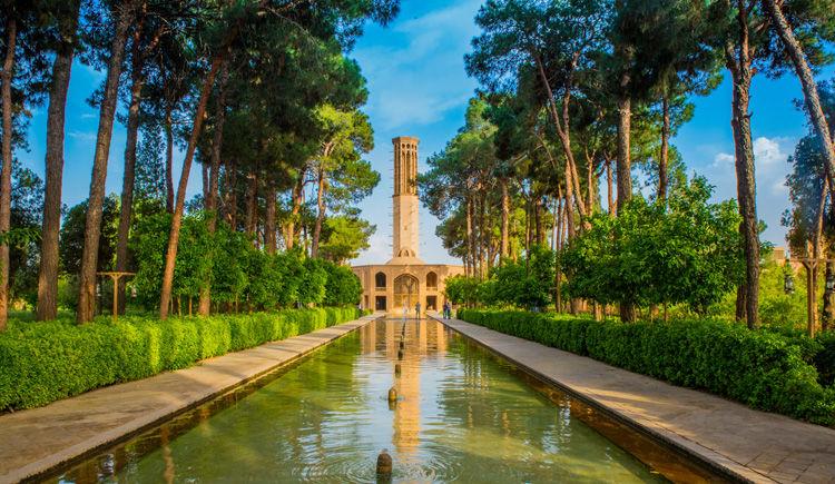 Yazd jardin de Dowlat Abad