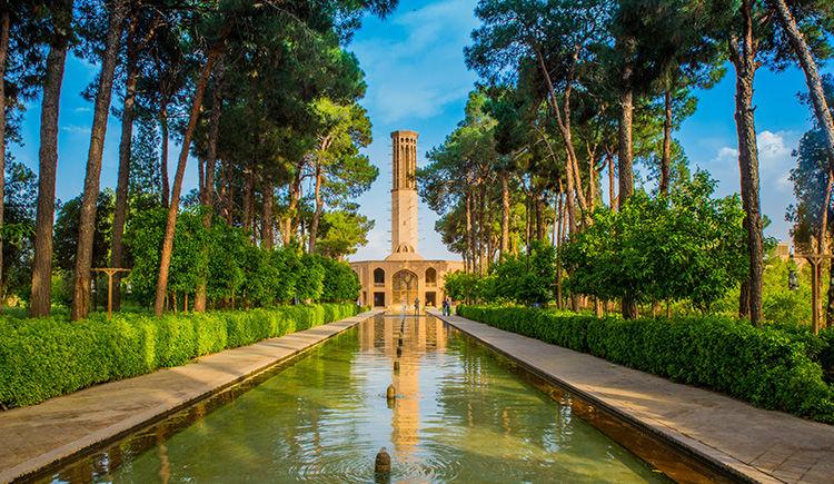 jardin de Dowlat Abad