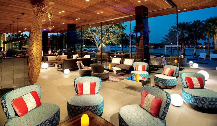 Ritz Carlton Bahrein Thai Lounge