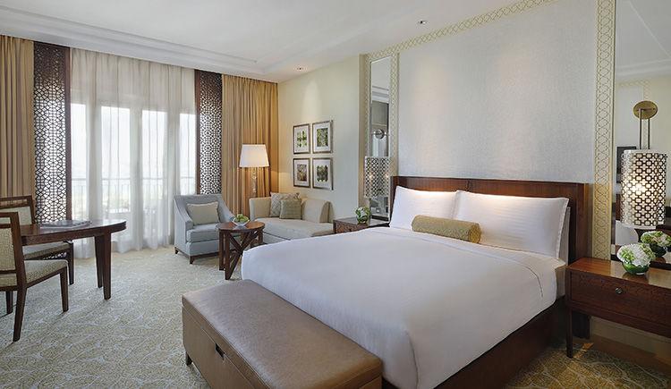 Ritz Carlton Dubai chambre