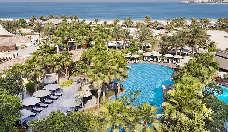 Ritz Carlton Dubai piscine