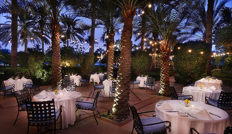 Ritz Carlton Dubai restaurant