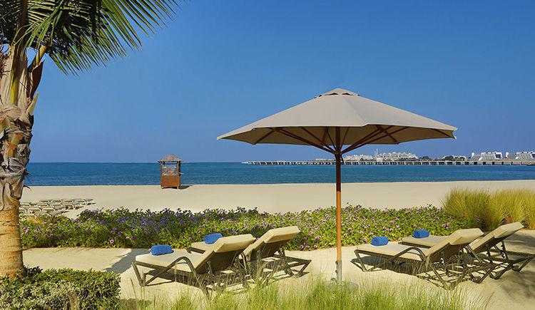 Ritz Carlton Dubai plage