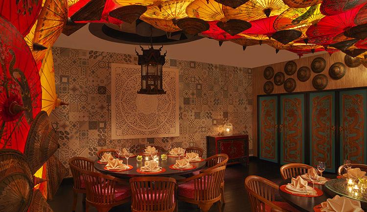 restaurant Mekong diner prive