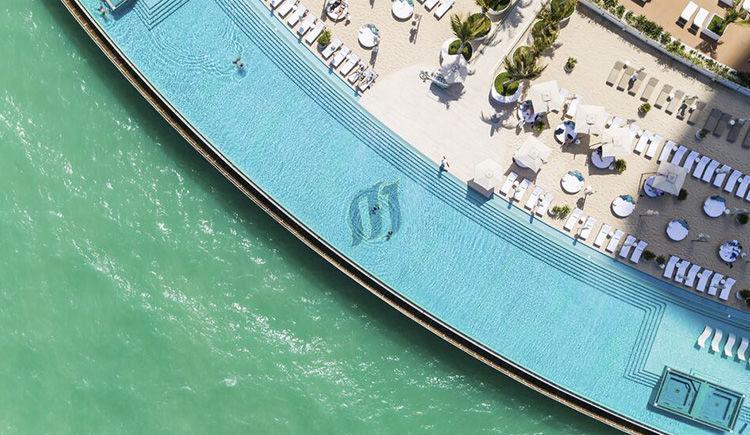 The Terrace infinti pool