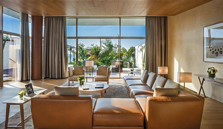 Beach Villa salon