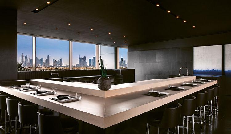 Hoseki Counter Skyline