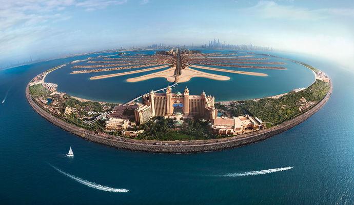 hotel Atlantis sur la Palm Jumeirah