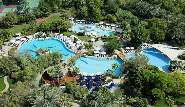 Grand Hyatt Dubai piscine
