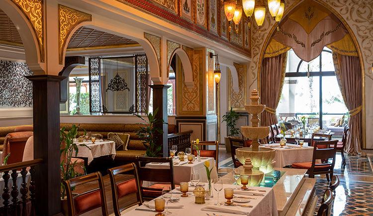 Jumeirah Zabeel Saray restaurant Lalezar