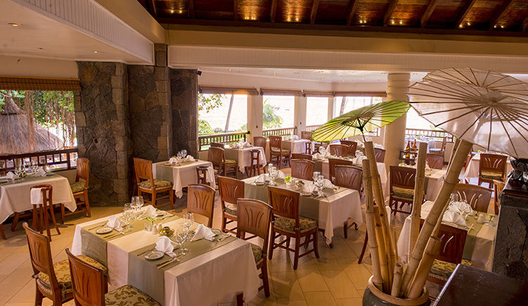 Maritim Crystal Beach restaurant
