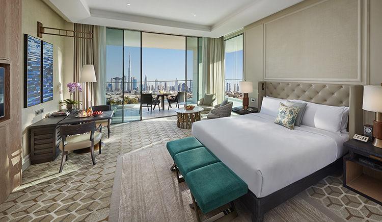 chambre Mandarin vue panoramique