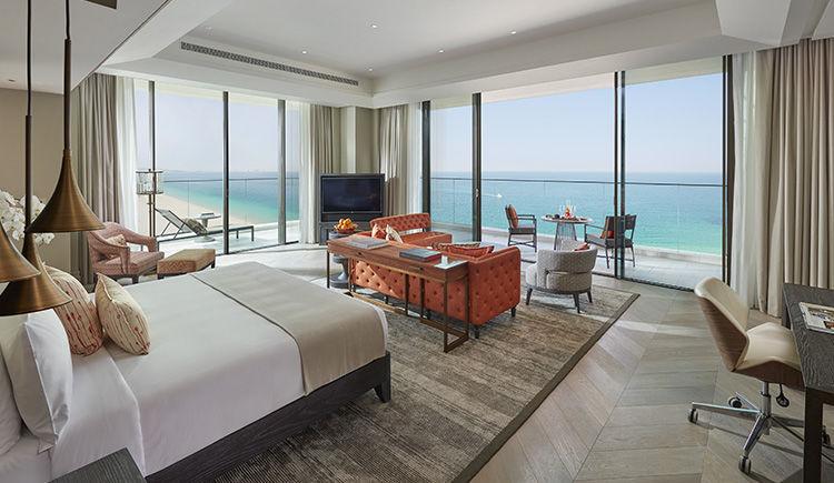 suite Mandarin face a la mer