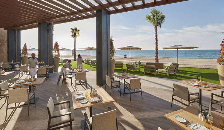 restaurant The Bay terrasse