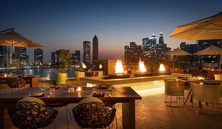 Bhar Sunset terrasse