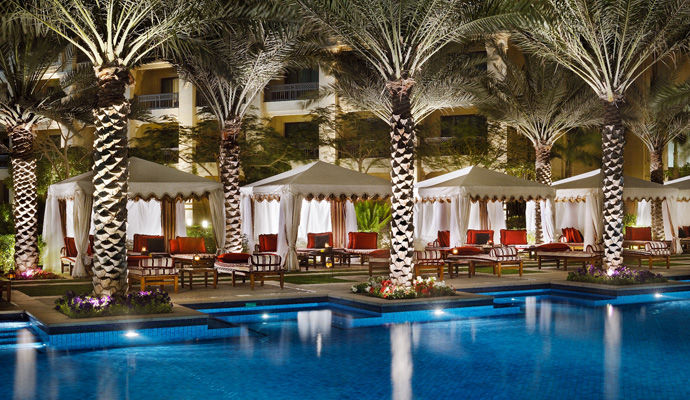 piscine et lounge