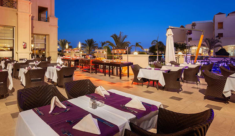 restaurant The Market terrasse