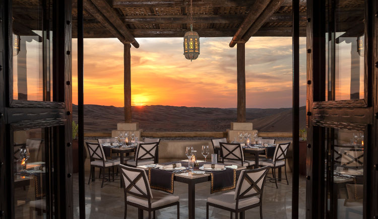 Restaurant Suhail terrace