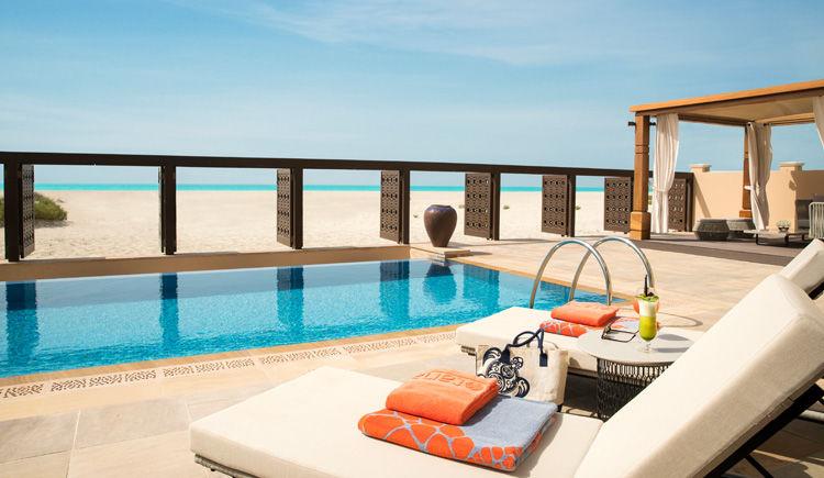 Villa terrasse avec piscine privee