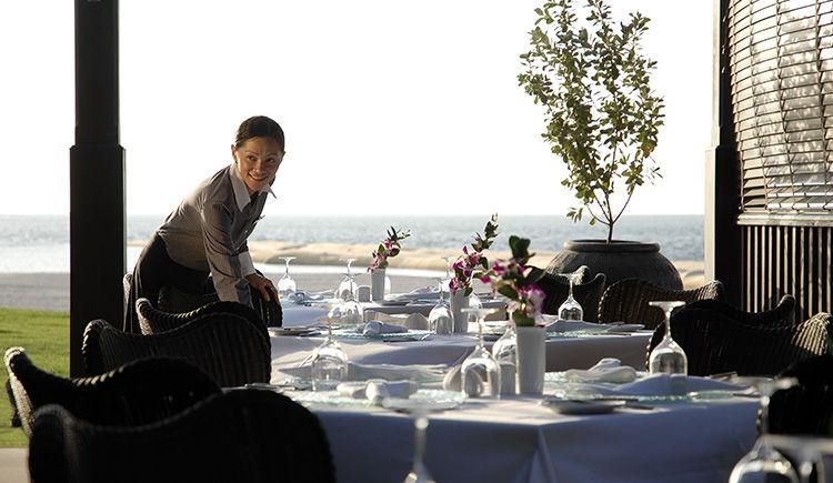 restaurant Al Shams terrasse