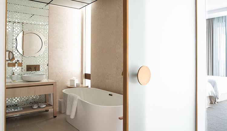 chambre Ocean Deluxe salle de bain