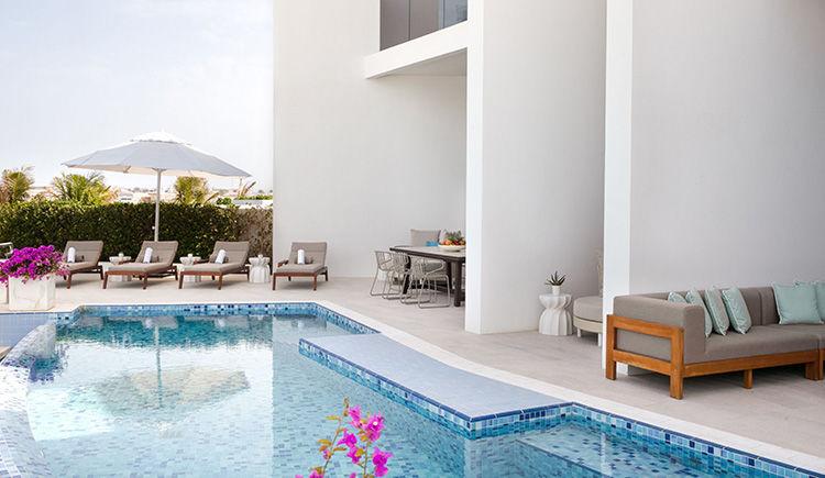 Villa quatre chambres piscine