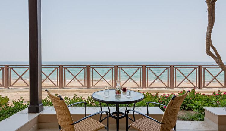 terrasse chambre Kappa Club Fujairah Miramar