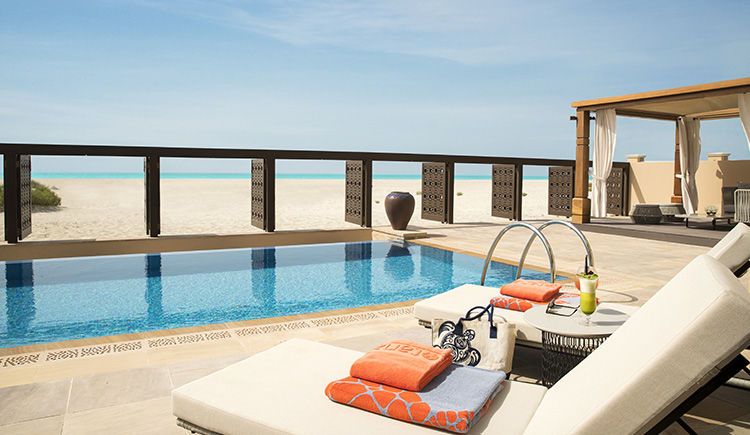 piscine privee chambre beachfront