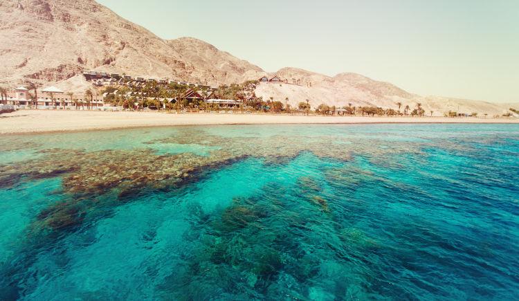 Jordanie mer
