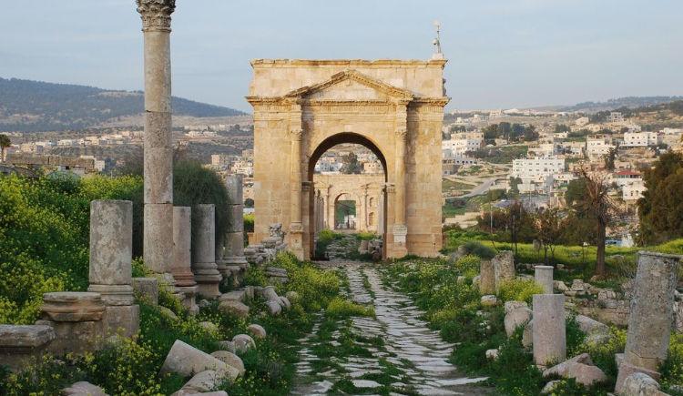 ruines Jordanie