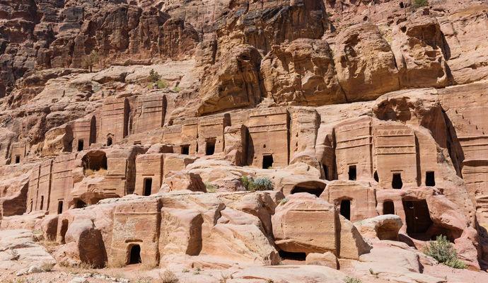 tombeaux royaux de Petra