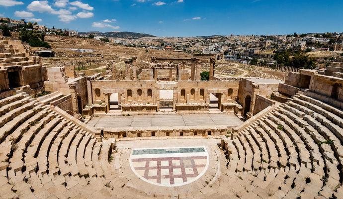 citee romaine de Jerash