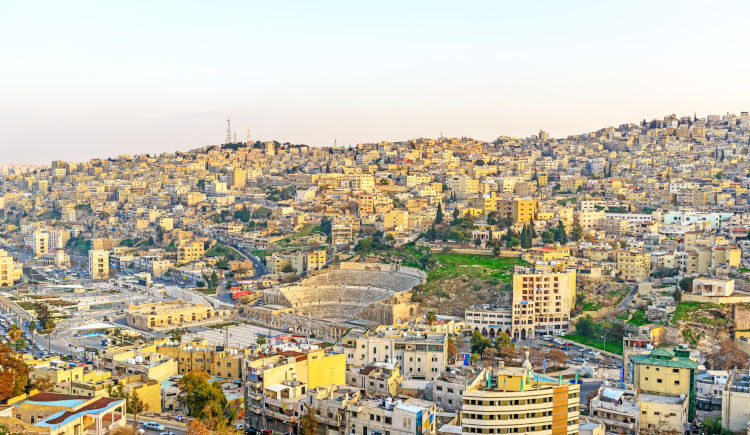 Amman et son theatre romain