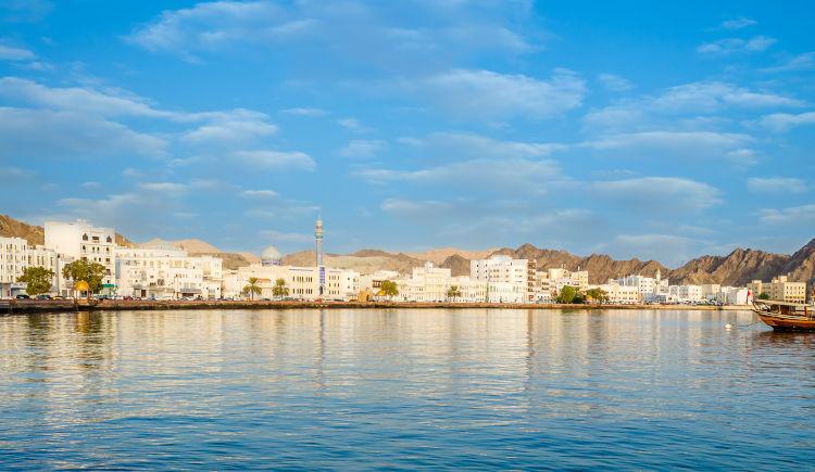 Entre mers et deserts 4* Muscat to Dubaï
