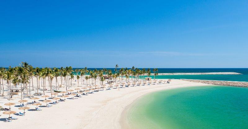 Al fanar hotel beach oman