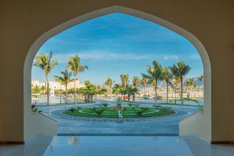 Al fanar hotel entrance oman
