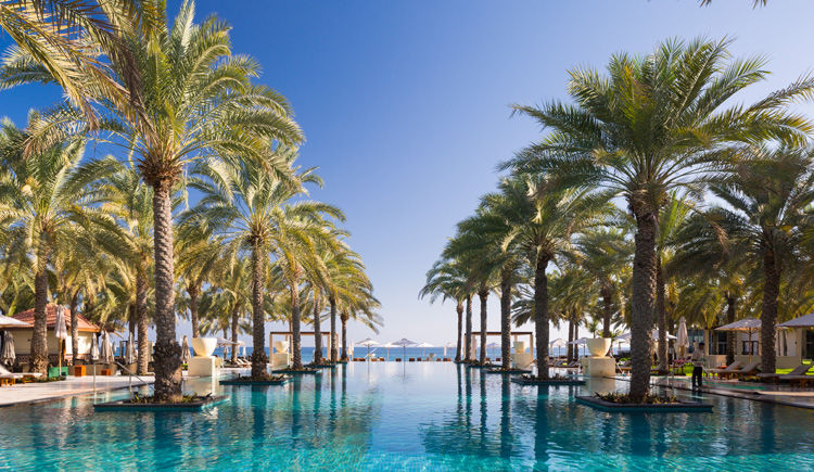 Al Bustan Palace Ritz-Carlton Hotel 5 * Luxe