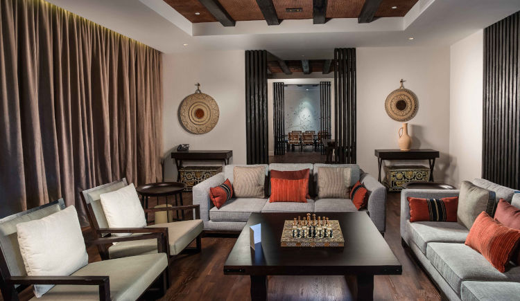 Jabal villa living