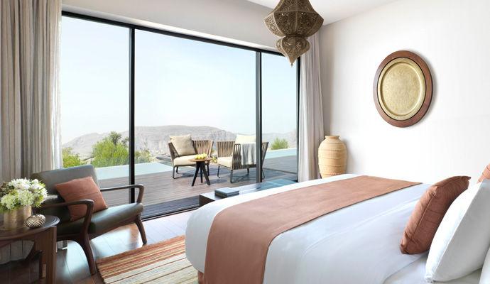 pool villa chambre