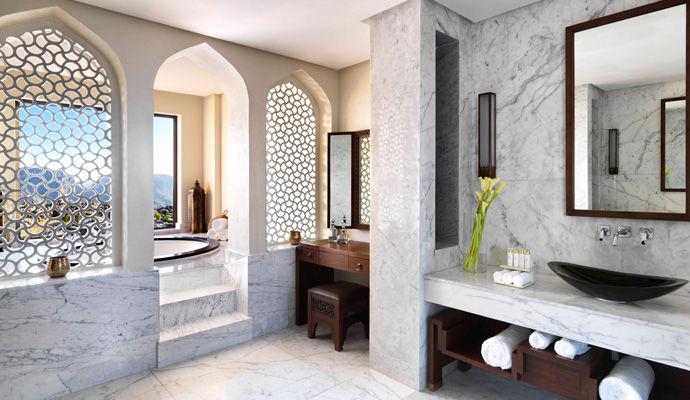 royal mountain villa salle de bains