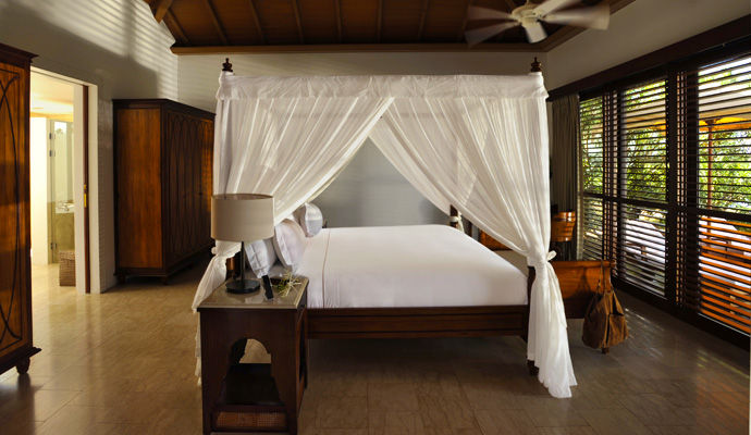 chambre luxury pool villa the residence