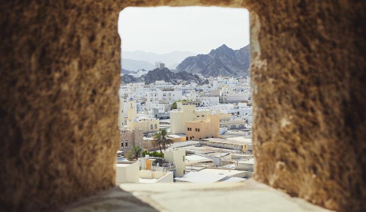 Muscat vielle ville